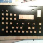 Panel cutout